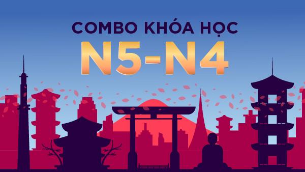 Combo Khóa học N5-N4
