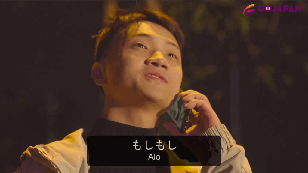 Xin chào tiếng Nhật qua điện thoại