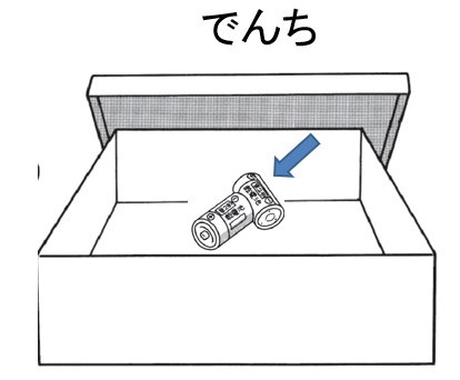 trong hộp có pin.