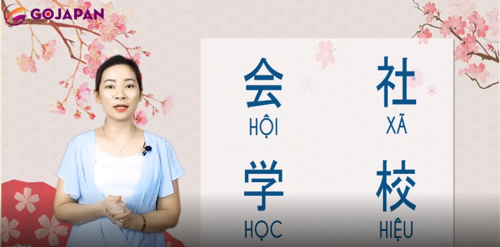 Học Kanji theo âm Hán Việt