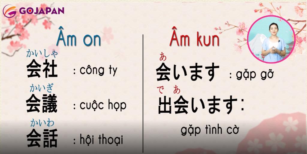 Một chữ Kanji có nhiều cách đọc