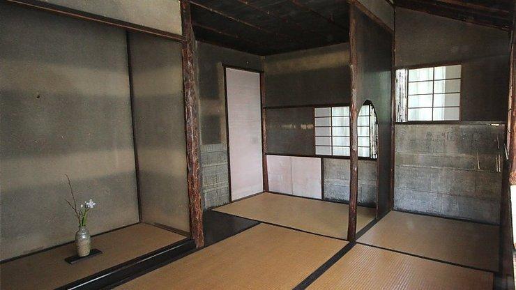 Phòng trà cổ từ thời đại Sen no Rikyu