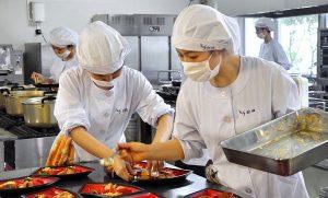 Đơn hàng chế biến thực phẩm đi tỉnh SAITAMA tháng 2.2021