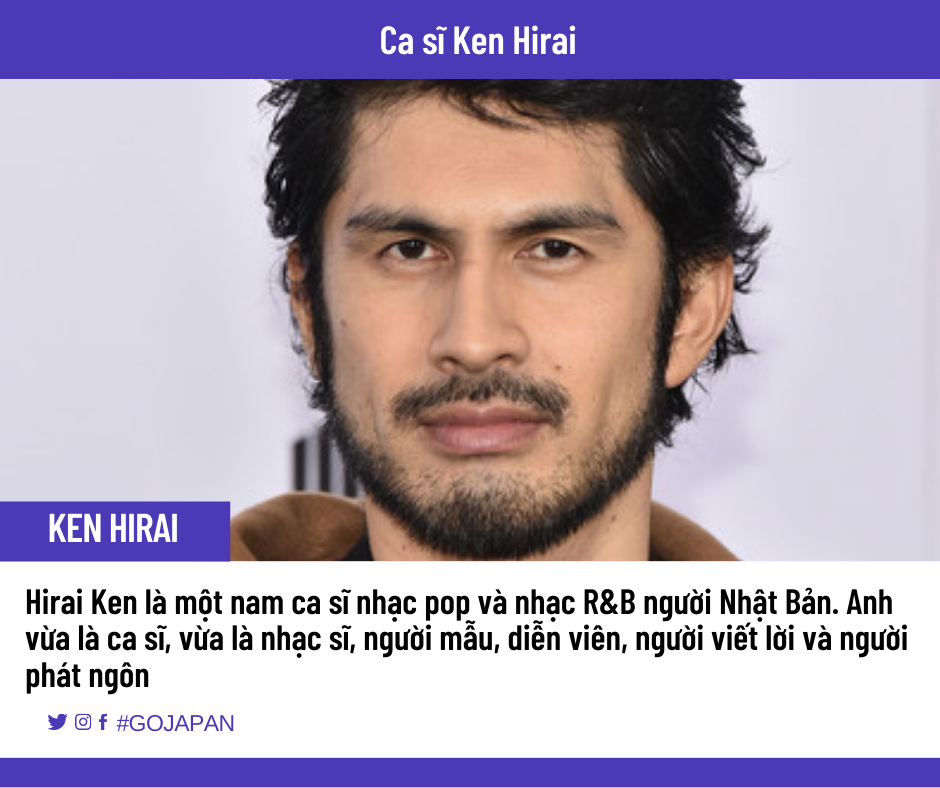 Học tiếng Nhật qua bài hát ca sĩ Ken Hirai