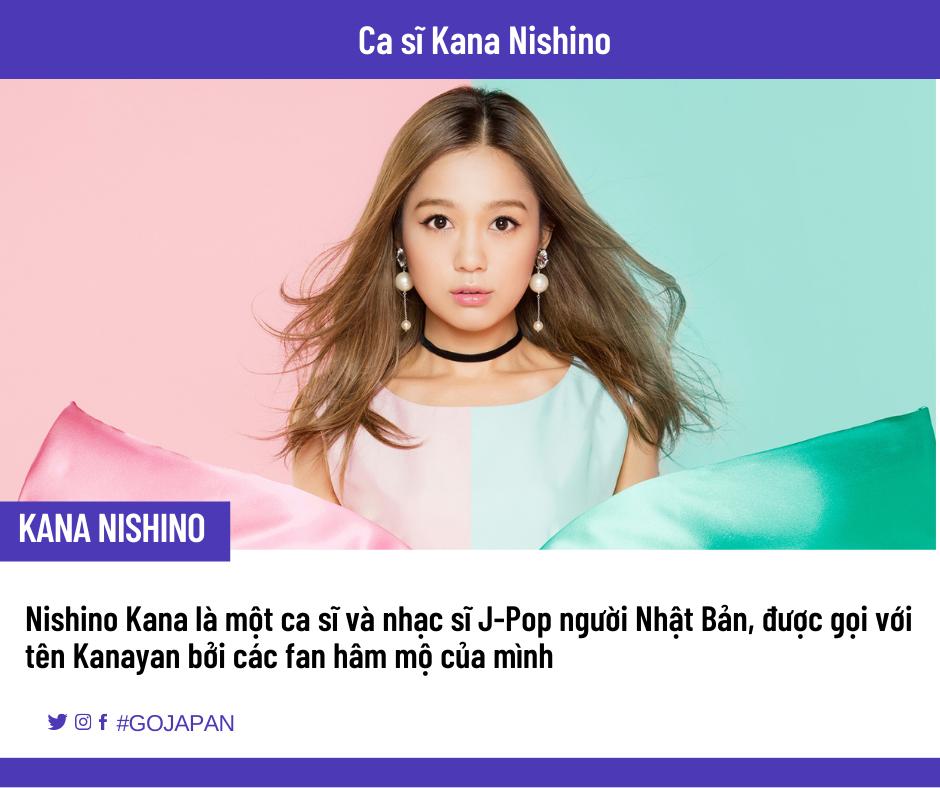 Học tiếng Nhật qua bài hát ca sĩ Kana Nishino