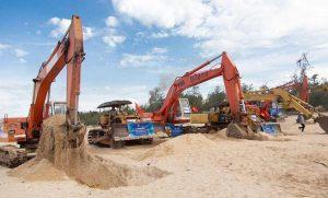 Đơn hàng thi công cùng máy xây dựng đi tỉnh MIYAGI tháng 3. 2021