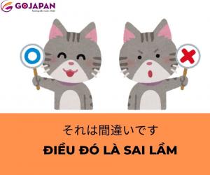 Truyện cười tiếng Nhật số 66 - ĐIỀU ĐÓ LÀ SAI LẦM (それは間違いです)