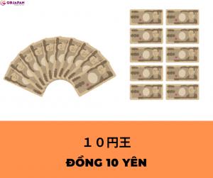 Truyện cười tiếng Nhật số 90 - ĐỒNG 10 YÊN (10円王)