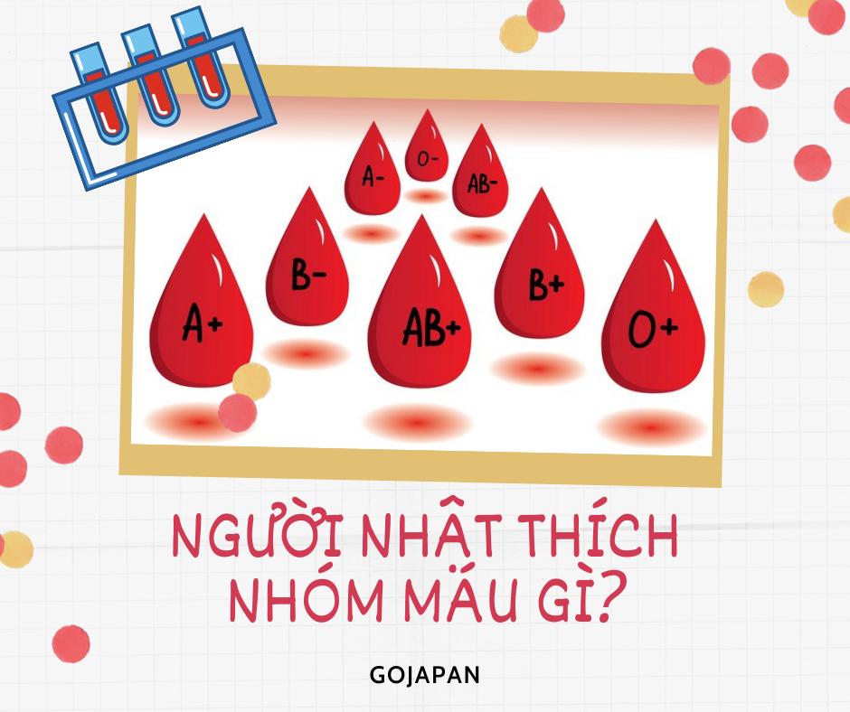 người nhật thích nhóm máu gì