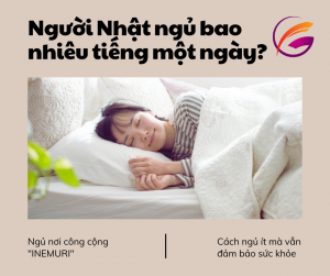 Người Nhật ngủ bao nhiêu tiếng một ngày (1)