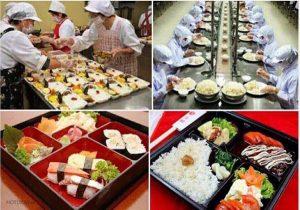 Đơn hàng thực phẩm Nhật Bản